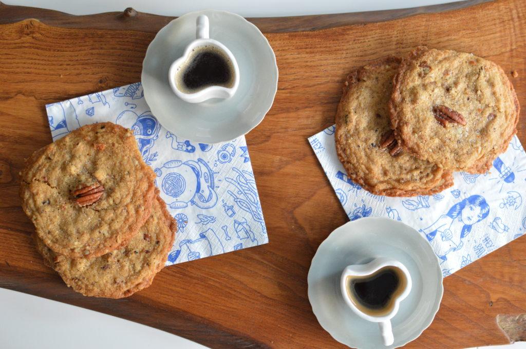 merenda caffè e biscotti