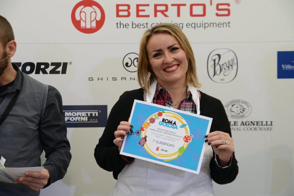 Laura Conforti vincitrice panino goloso