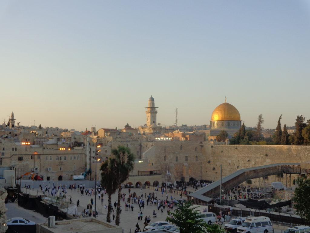 viaggi Gerusalemme muro del pianto moschee