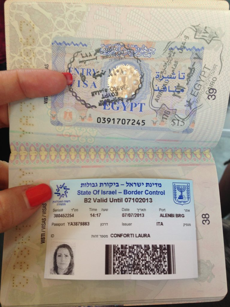 visto israele