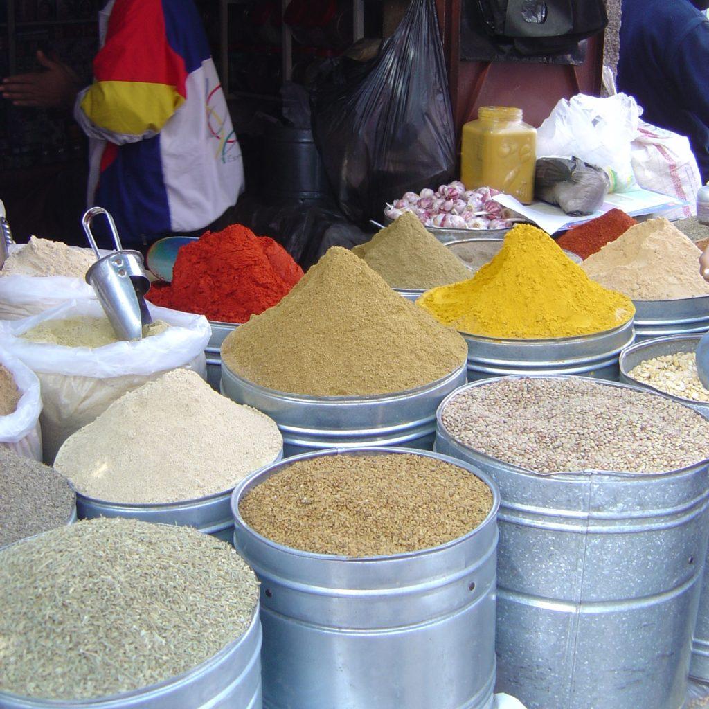 viaggi Marrakesh spezie spieces