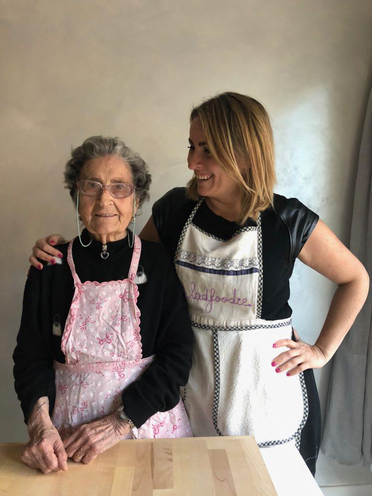 castagnole con Nonna Cecilia