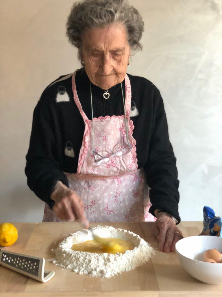 Le castagnole con Nonna Cecilia