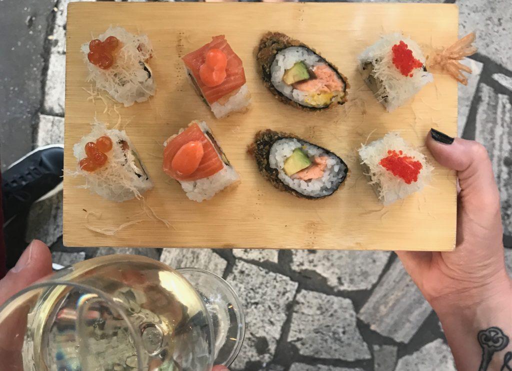 Daruma sushi Ponte Milvio