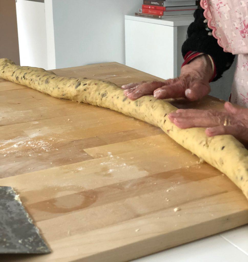 i pizzicotti biscotti di Nonna Cecilia