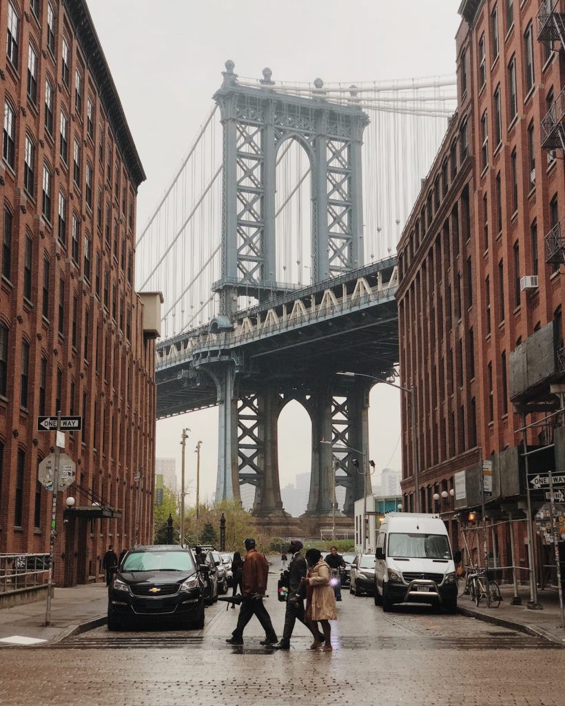 Dumbo Manhattan Bridge New York