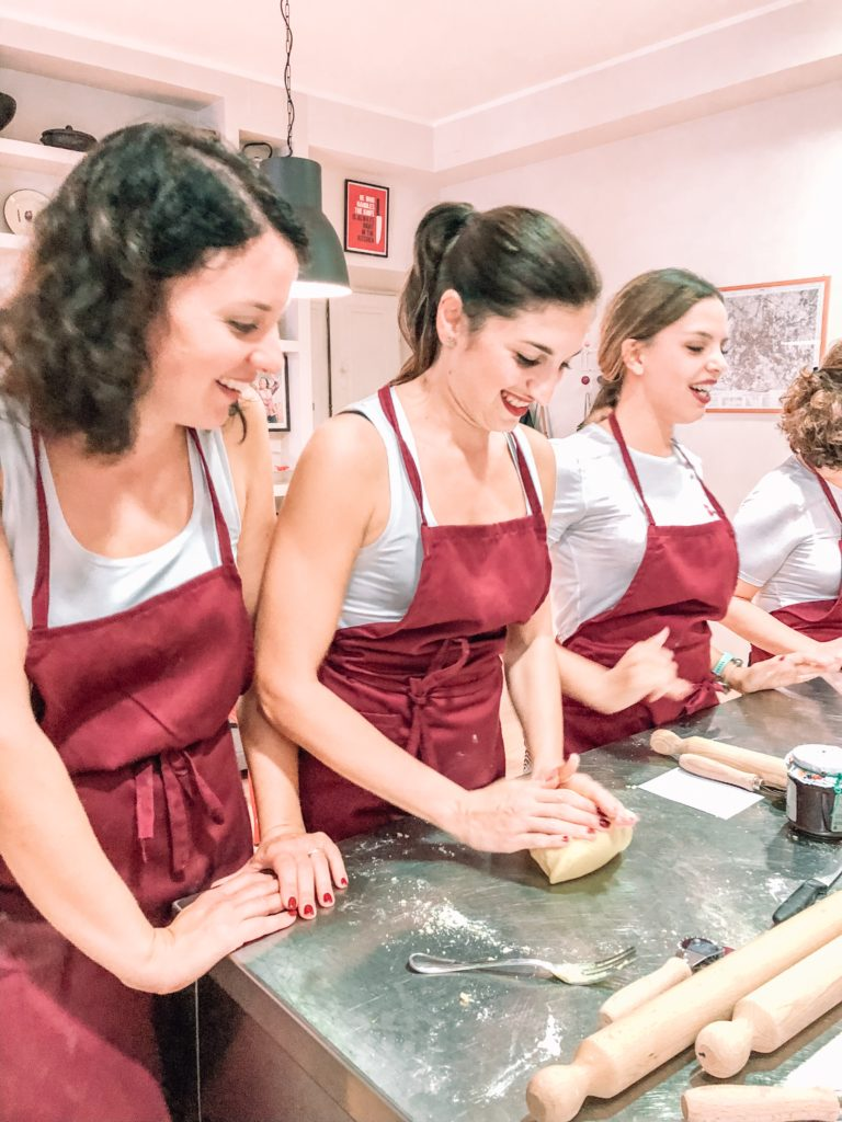 cooking class bride to be addio al nubilato