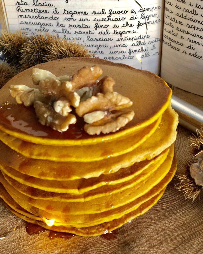 pancakes di zucca pumpkin pancakes