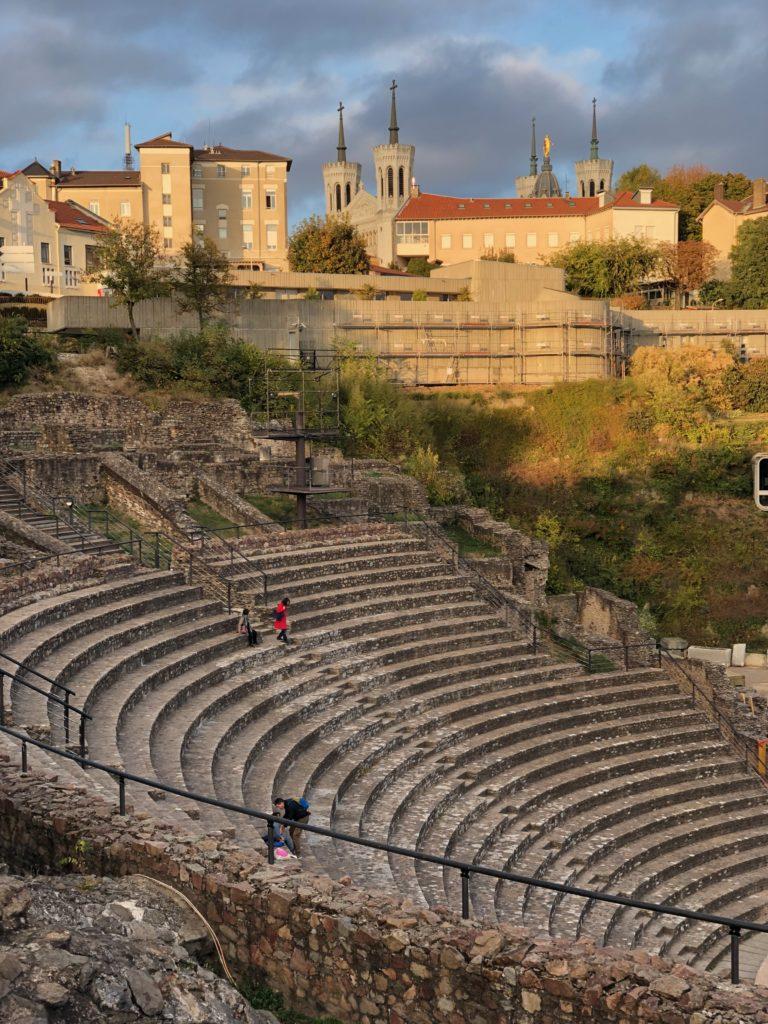 Lione Francia teatri romani