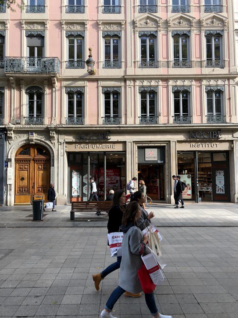 Rue de la Republique Lione