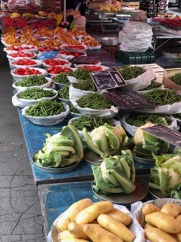 mercato quai sain antoine Lione