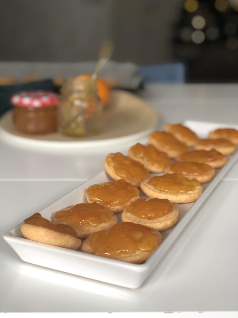 Aranciocchi biscotti arancia e cioccolato