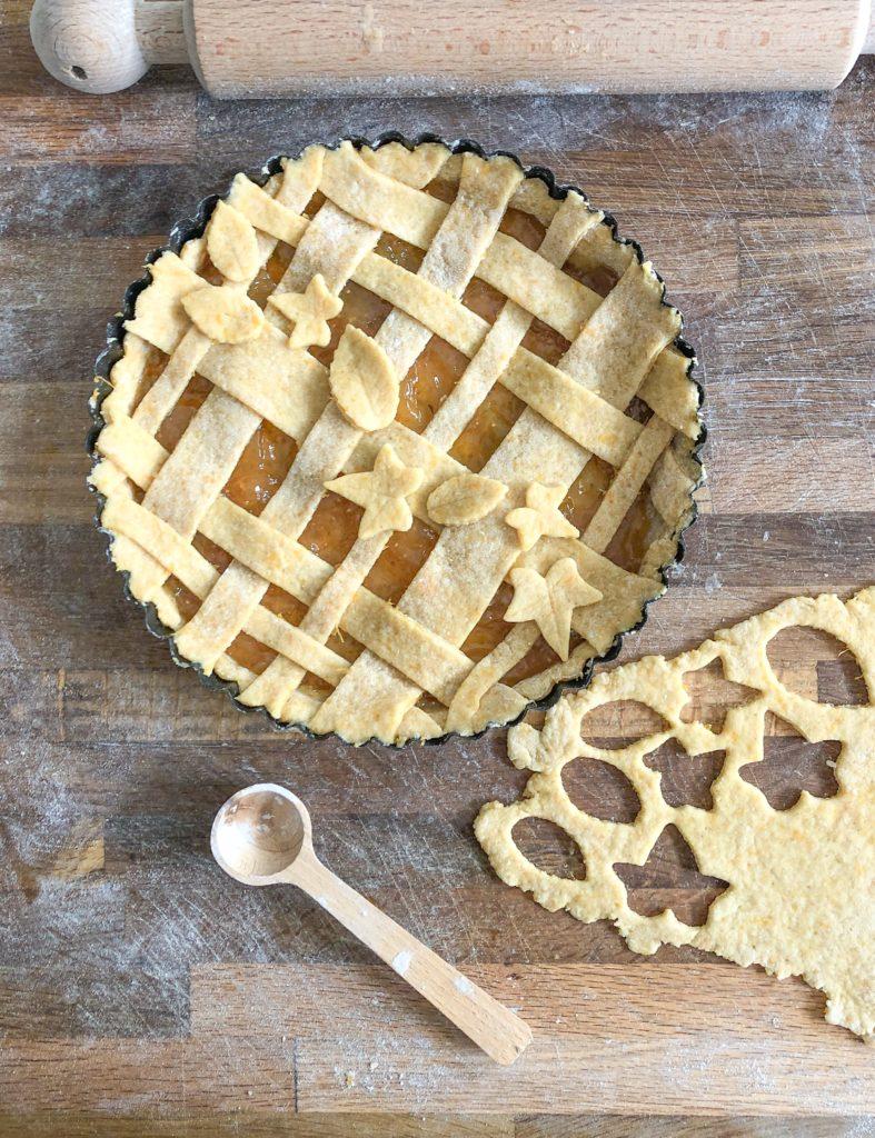 Pasta frolla con la zucca