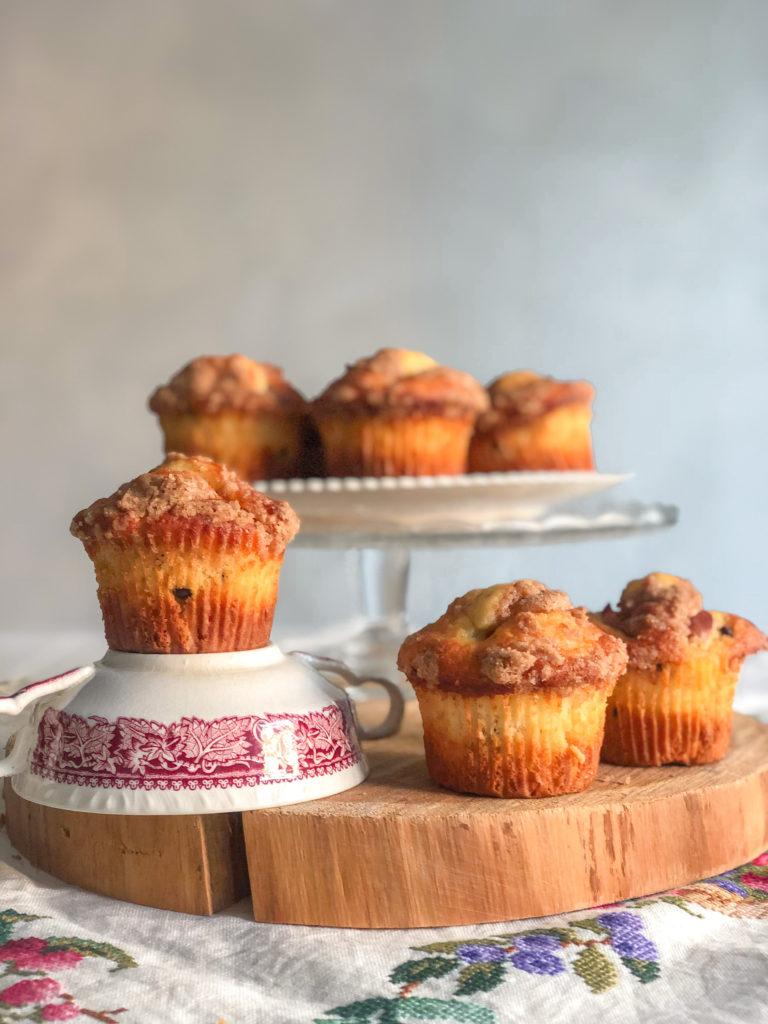 muffin mela cannella e cioccolato