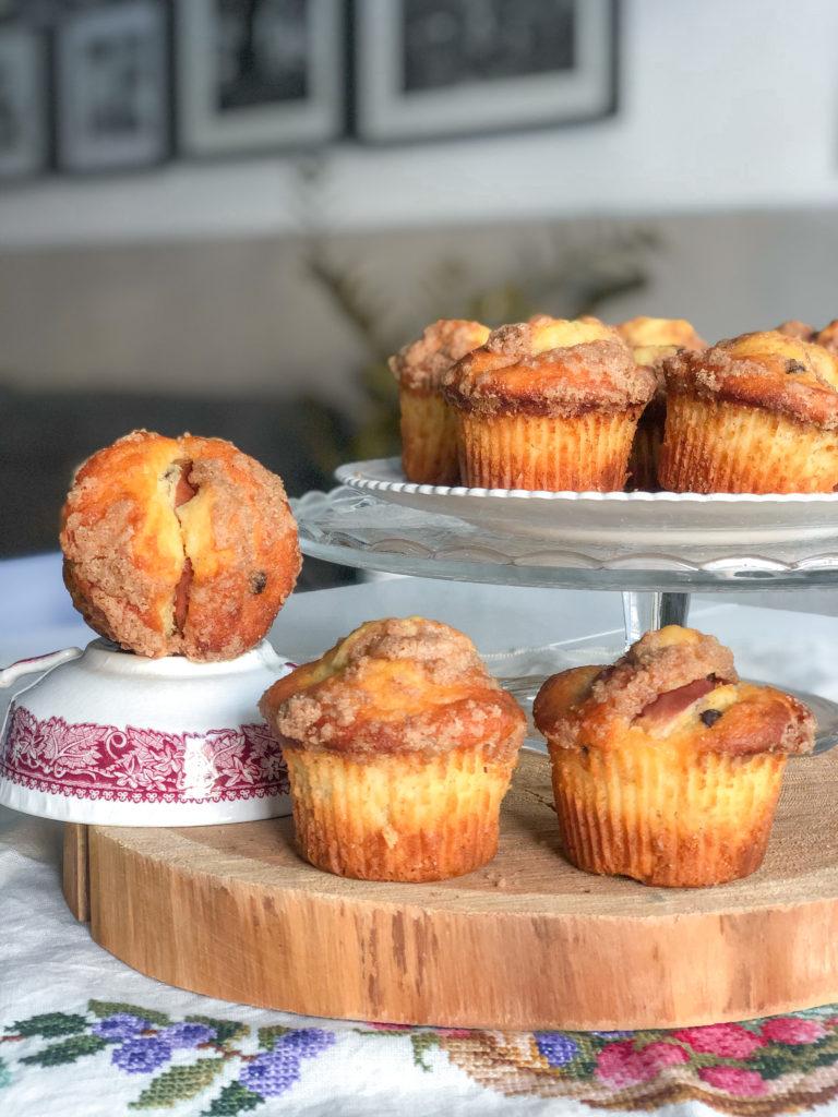 muffin melacannella e cioccolato