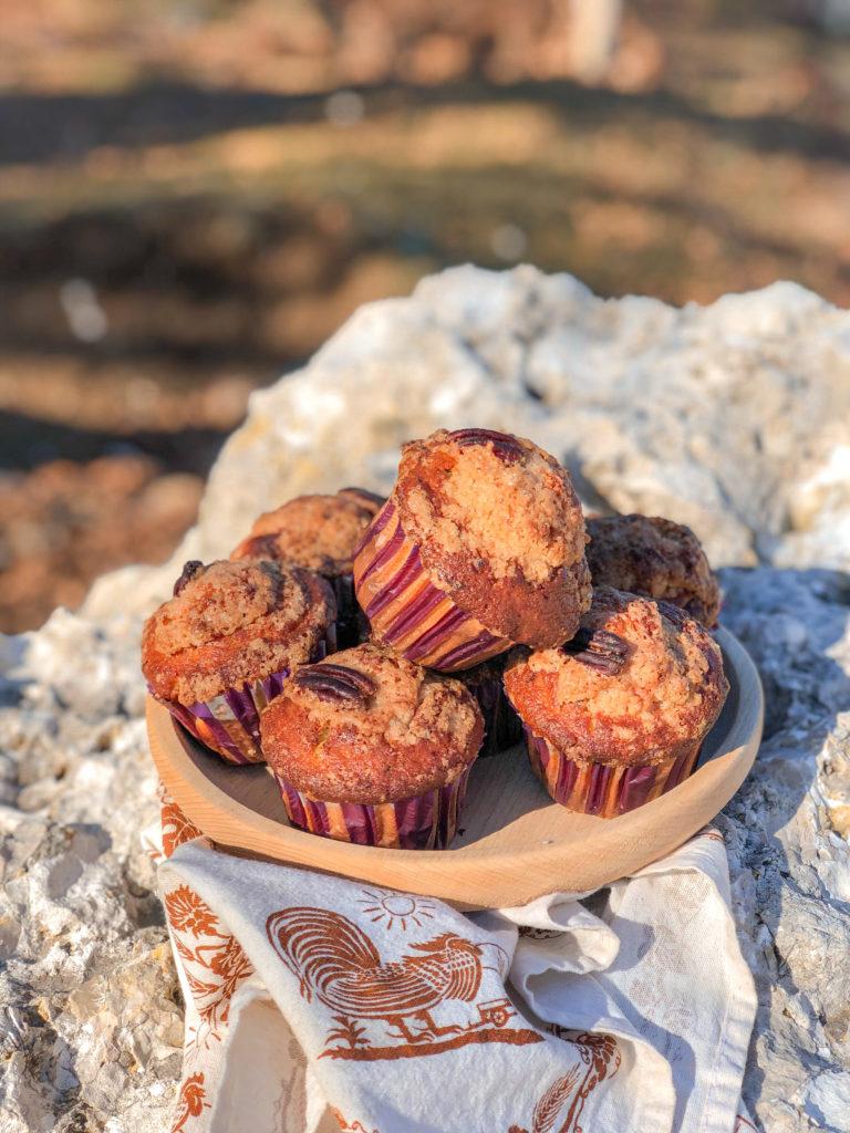 muffins cioccolato e noci pecan