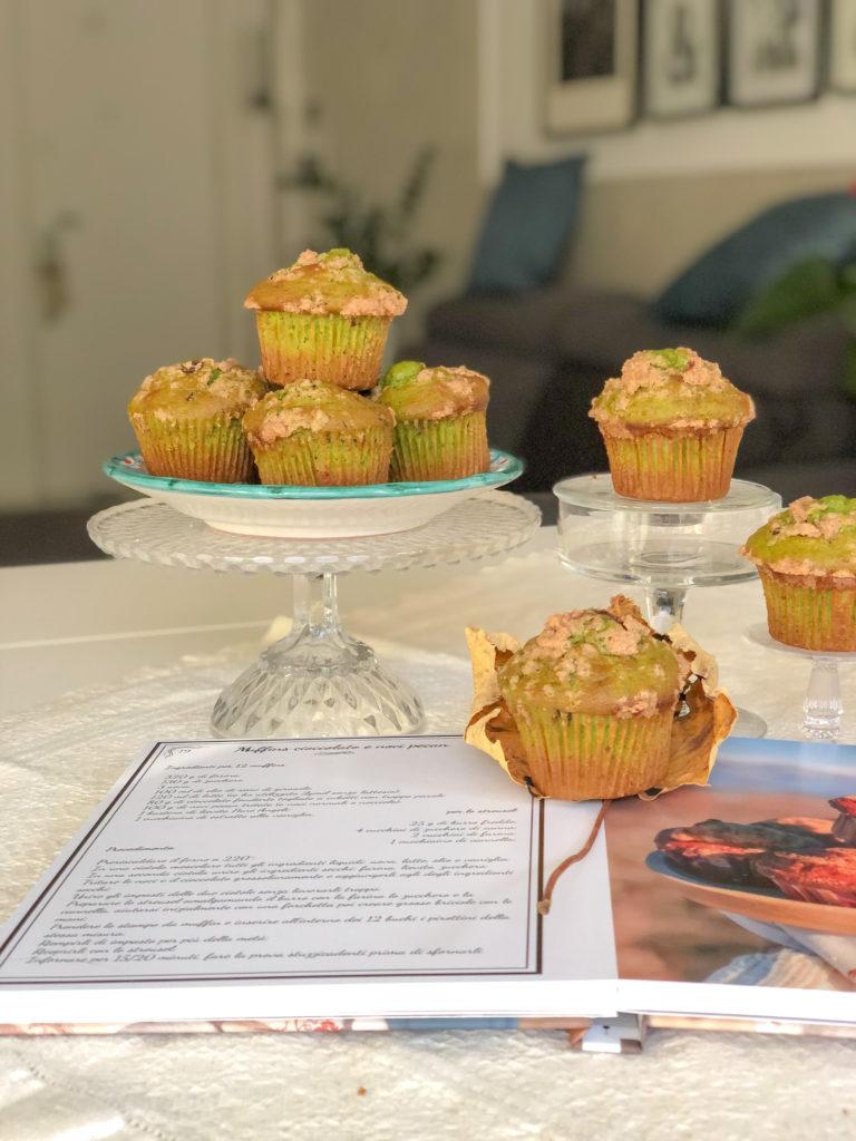 muffins al tè mathca