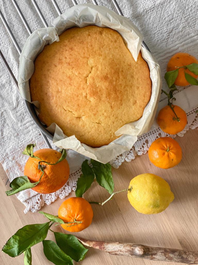 torta rovesciata agli agrumi
