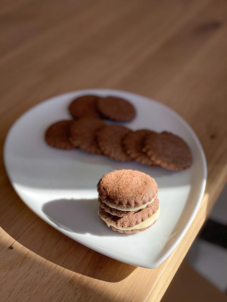 biscotti nocciole e cacao